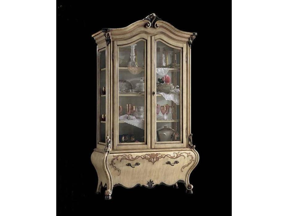 Tarocco Vaccari: Luxury: витрина 2-х дверная  (Lacato)