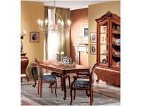 Tarocco Vaccari: Paradise: стол обеденный раскладной  (орех, золото)