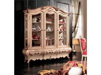 Tarocco Vaccari: Paradise: витрина 3-х дверная  (laccato, decape, oro)