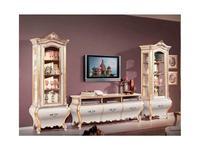 Tarocco Vaccari: Paradise: тумба под телевизор 3-х дверная  (laccato, oro)
