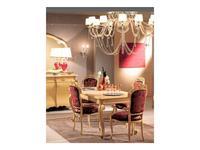 Tarocco Vaccari: Paradise: стол обеденный раскладной  (laccato, oro)