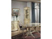 Tarocco Vaccari: Luxury: витрина угловая  (крем, роспись)