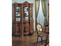 Tarocco Vaccari: Luxury: витрина 3-х дверная  (орех)