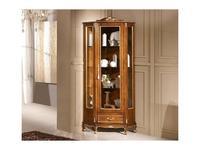 Tarocco Vaccari: Passioni: витрина угловая  (орех, золото)