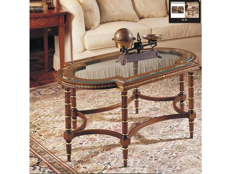 Francesco Molon: Сentury Collection: стол журнальный центральный  (орех)