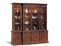 Francesco Molon: Сentury Collection: витрина 4 дверная  (орех)