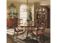 Francesco Molon: Сentury Collection: стол обеденный круглый раскладной  (орех)