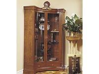Francesco Molon: Сentury Collection: витрина угловая 2 дверная  (орех)