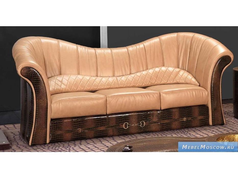Formitalia: Paris: диван 3-х местный кожа