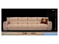 Formitalia: Ascot: диван 4-х местный кожа