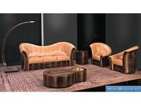 Formitalia: Paris: мягкая мебель комплект 3+1+1 кожа
