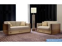 Formitalia: Plaza: диван 2-х местный кожа