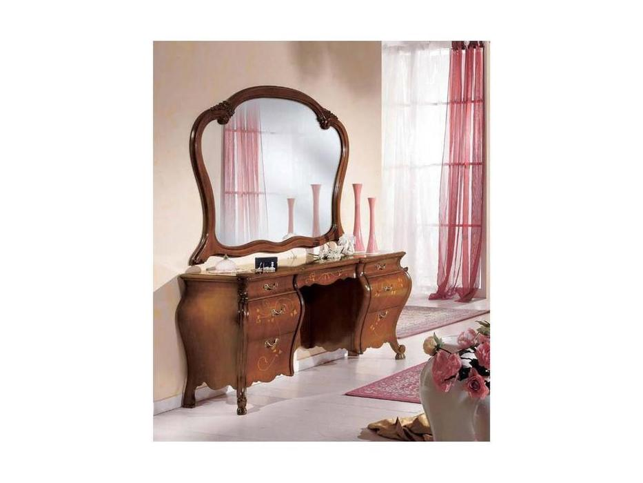 Tarocco Vaccari: Paradise: зеркало для туалетного стола  (орех, золото)