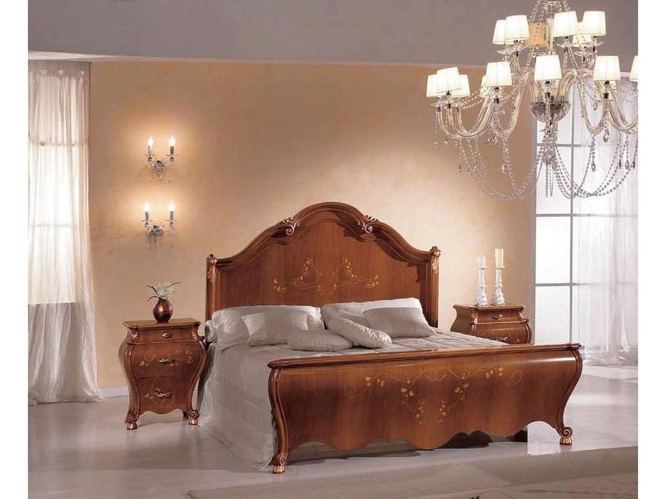 Tarocco Vaccari: Paradise: кровать 180х200  (орех, золото)