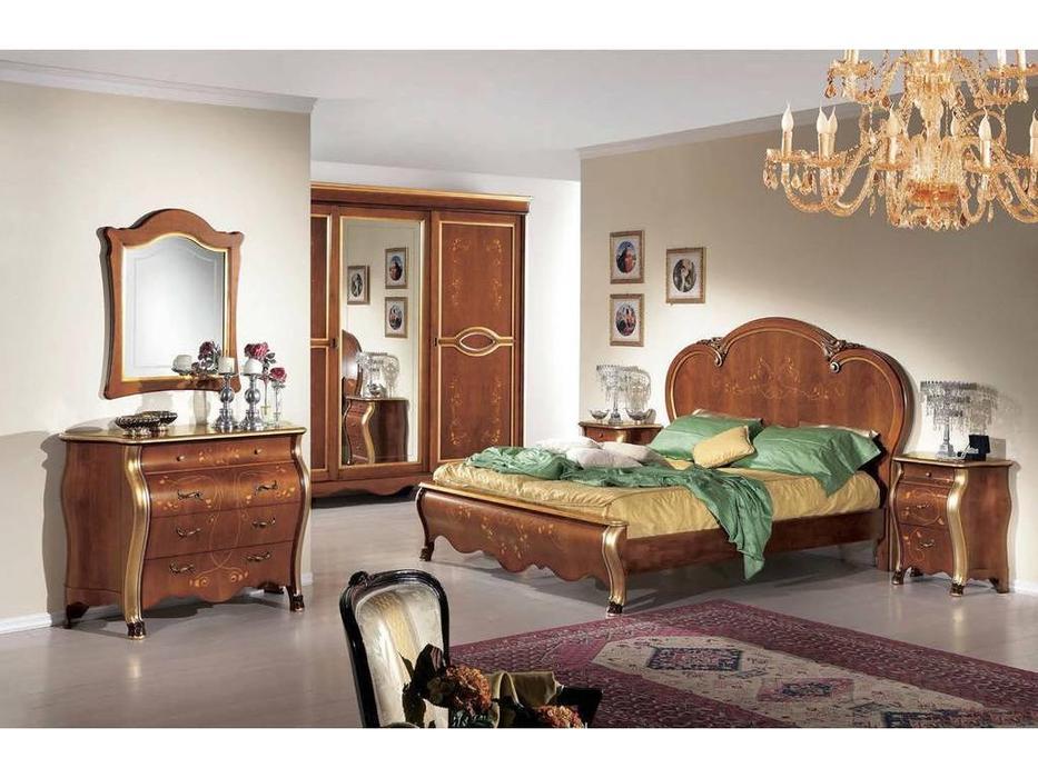 Tarocco Vaccari: Arena: спальная комната (орех, золото)