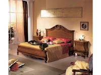 Tarocco Vaccari: Tulipano: кровать 180х200  (орех, золото)