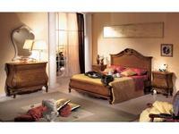 Tarocco Vaccari: Tulipano: спальная комната (орех, золото)