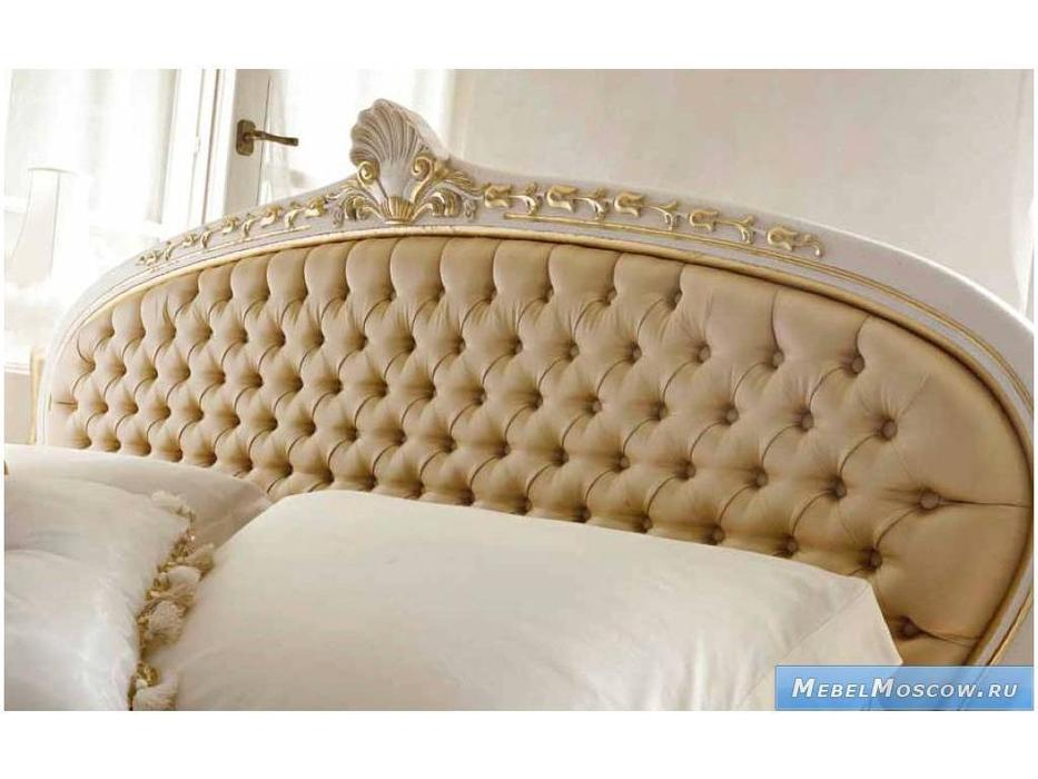 Volpi: Notti: кровать Persia 160х190  дерево class 4. ткань cat. B