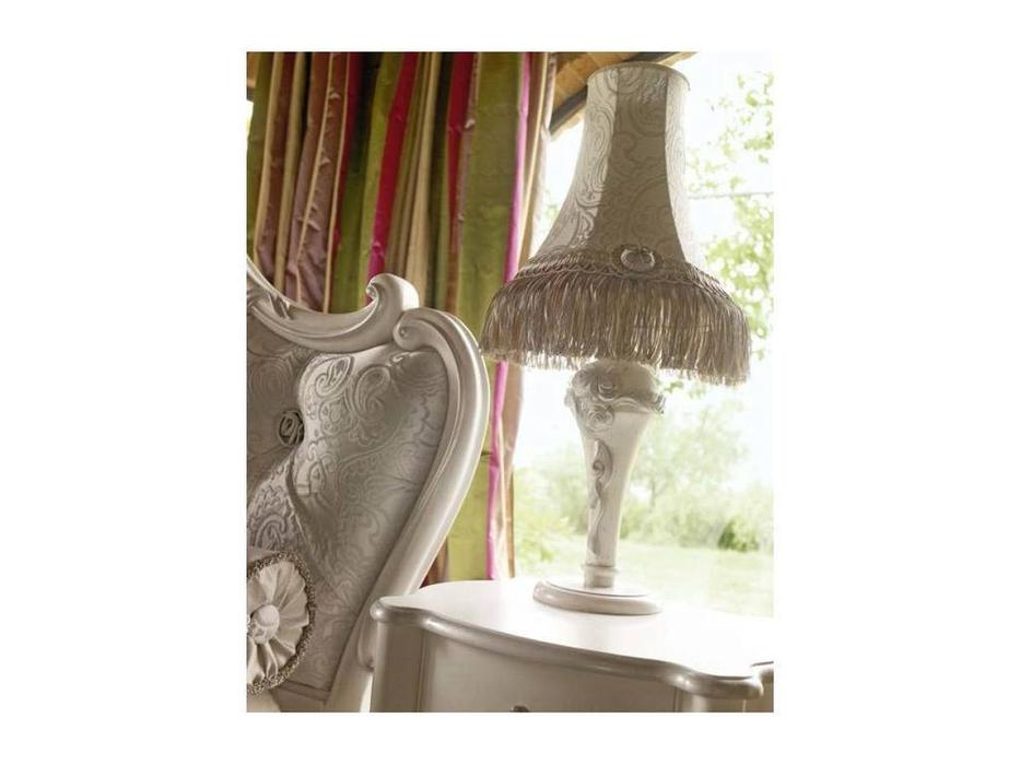 Volpi: Notti: лампа настольная Capri  дерево class 3.