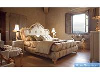 Volpi: Notti: кровать Diletta 180х200  дерево class 4. ткань cat. B