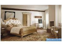 Volpi: Notti: кровать Sissi 160х190  дерево class 4. ткань cat. B