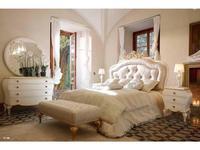 Volpi: Notti: кровать Vittoria 180х200  дерево class 4. ткань cat. C