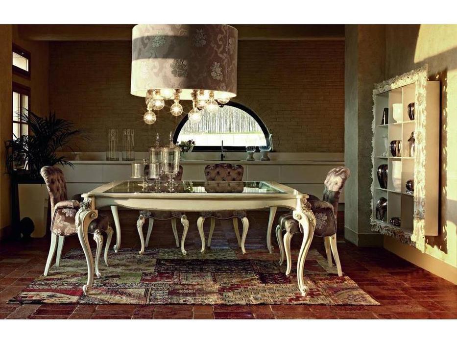 Volpi: Giorno: стол обеденный Capri  дерево class 4