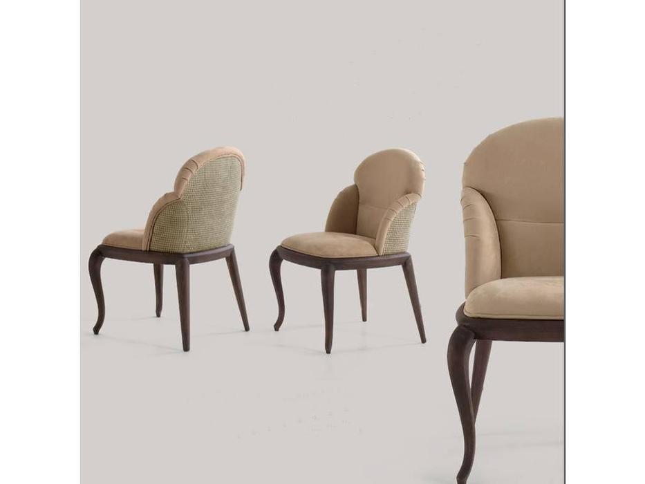 Volpi: Contemporary: стул Sally  (темный ясень, ткань кат.В)