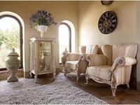 Volpi: Giorno: кресло Botero  дерево class 4. ткань cat.B