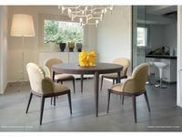 Volpi: Contemporary: стол обеденный Tolomeo  (темный ясень)