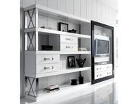 Amboan: Event Collection: стенка мебельная (белый, черный)