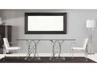 Amboan: Selection: стол обеденный   Glass Top/Chrome