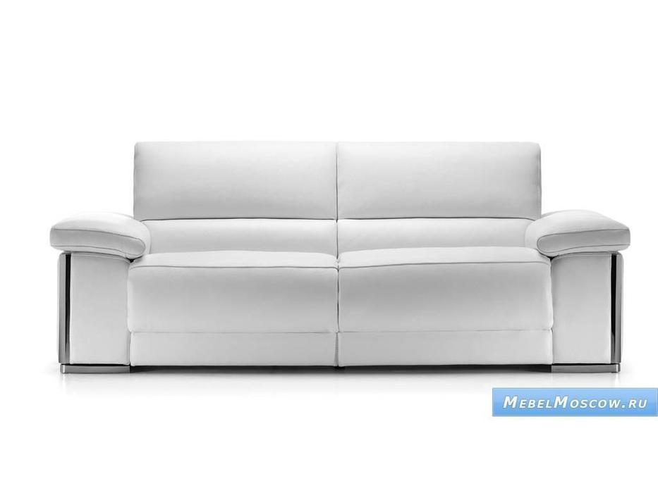 Luis Silva: Capa: диван 3-х местный (белый) кожа