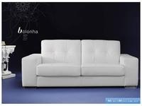 Luis Silva: Bolonha: диван 3-х местный (белый) кожа