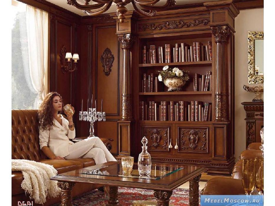 Mobil Deri: Firenze Collection-VIP Line: шкаф книжный 2-х дверный (noce)