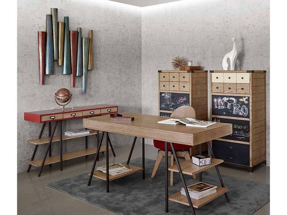 AM Classic: Urban: стол письменный Maestro  (Carvalho simples, Brick simples)