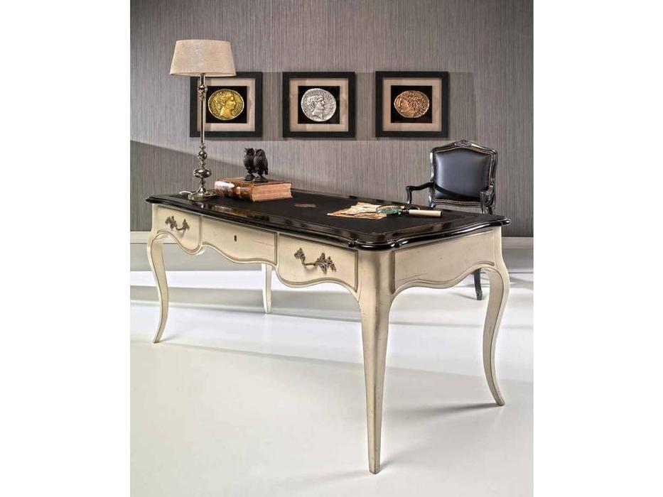 AM Classic: Luis XV: стол письменный  (кожа)