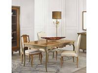 AM Classic: Baroque: стол обеденный  раскладной (Amber groseado, ColdGrey)