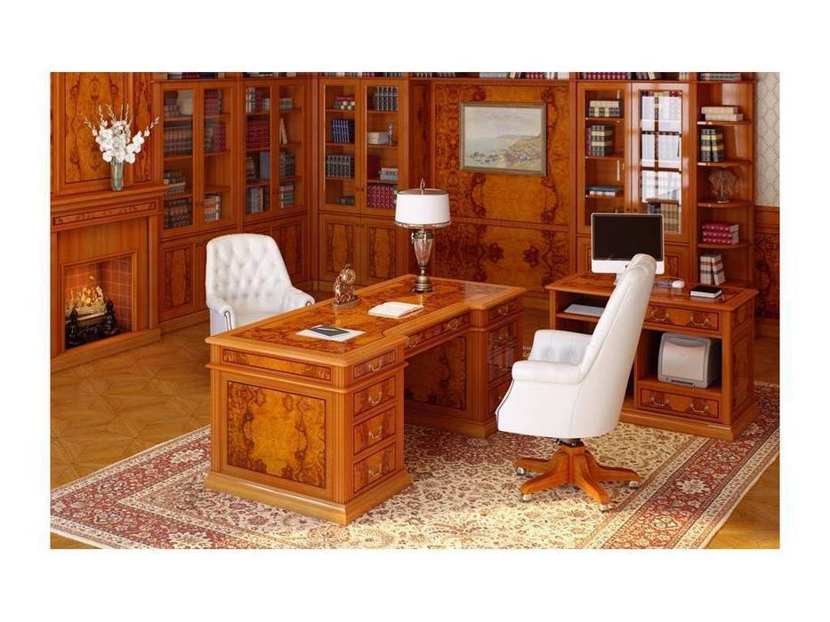 Pristige: интерьер кабинета руководителя (оливковый ясень)