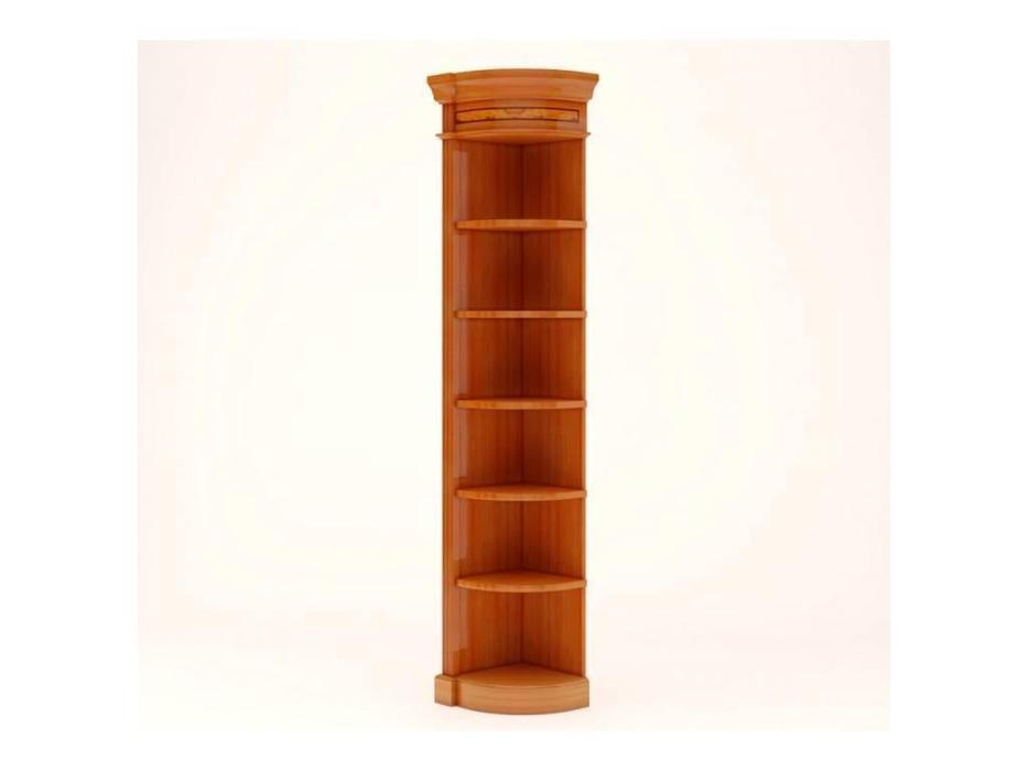 Pristige: шкаф угловой  корпус (оливковый ясень)