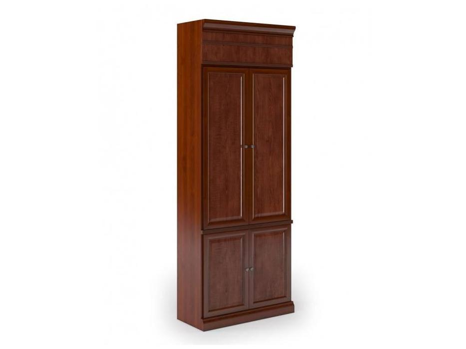 Monarch: шкаф 2-х дверный  для одежды (вишня)
