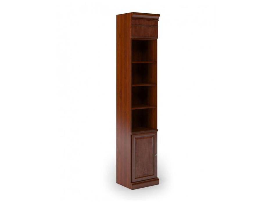 Monarch: шкаф книжный  узкий (вишня)