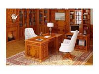 Pristige: стол руководителя  (оливковый ясень)