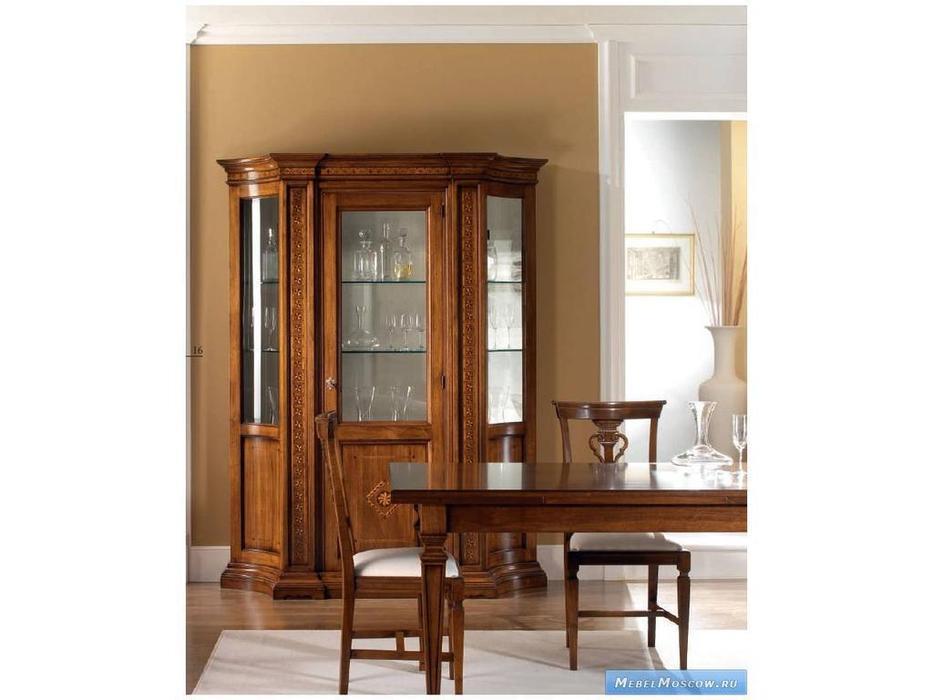 Rudiana Interiors: Accademia: витрина 1 дверная  (орех)