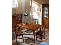 Rudiana Interiors: Accademia: стол обеденный прямоугольный  (орех)