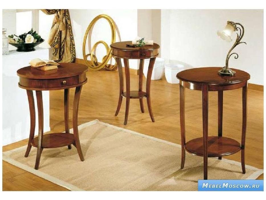 V. Villanova: Infinity: стол консольный  круглый (ciliegio madeira)