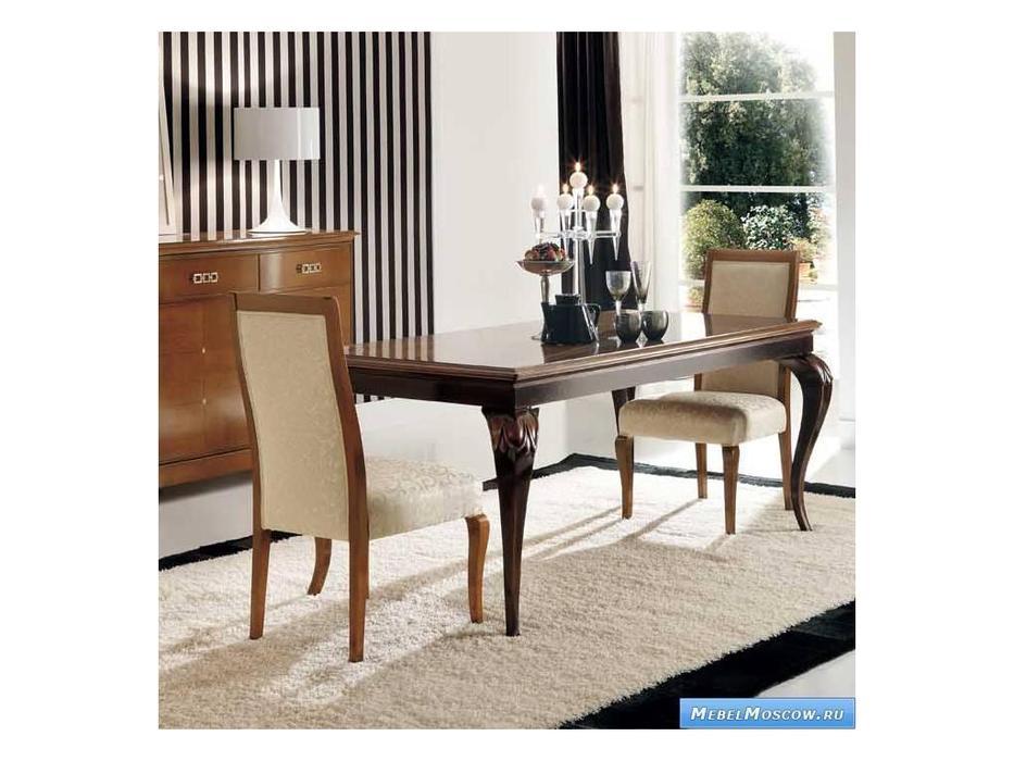 V. Villanova: Riva Рива: стул обивка ткань  (Ciliegio )