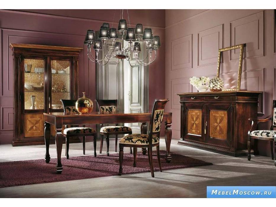 V. Villanova: Infinity: стол обеденный  раскладной 170х90 (Moka +cilegio)