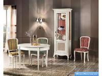 V. Villanova: Infinity: стол обеденный раскладной овальный  (Bianco madeira)