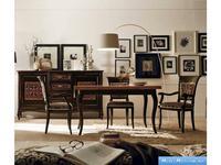 V. Villanova: Капри: стол обеденный раскладной  (Bicolore(Moka +cilegio)